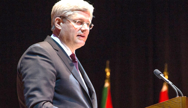 Primer Ministro Stephen Harper. Foto:PMO.