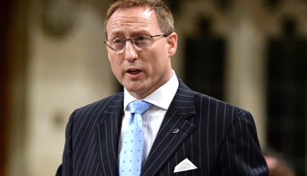 El ministro de Justicia, Peter MacKay.
