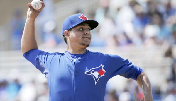 El lanzador mexicano de los Azulejos, Roberto Osuna.Foto: Blue Jays.